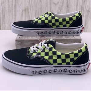 Vans Era Black/Sharp Green